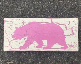 Wood Sign Wall Decor - Bear