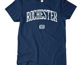 Women's Rochester 585 New York T-shirt - S M L XL 2x - Ladies' Tee, Gift for Her, Rochester Shirt, Flour City Shirt, Flower City Shirt, NY