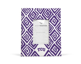 TCU Horned Frogs 9x11 Diamond Picture Frame