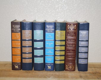 Vintage Books Readers Digest Home Decor
