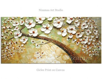 Abstract Art Giclee Print on canvas Interior Decor P Nizamas Kissed by Wind ready to hang