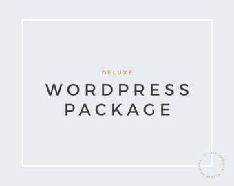 Premade Wordpress Theme Package