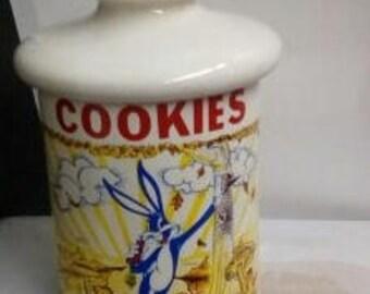 Vintage Bugs Bunny Cookie Jar