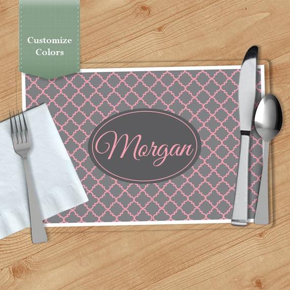 custom paper placemats wholesale