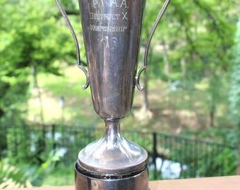 Vintage silver trophy