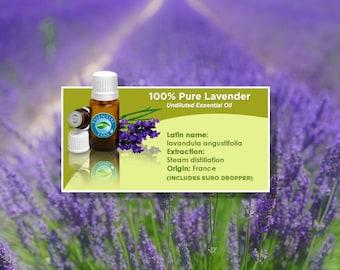 Lavender Essential Oil - 1/2oz - (15ml)