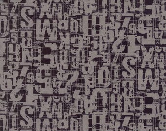 Moda - Compositions by BasicGrey - Number Jumble Charcoal