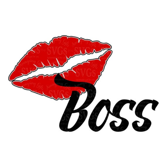 Download SVG Cutting Files Lip Boss Lipstick SVG Lips Lipstick