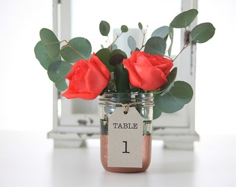 Table Numbers, Wedding, Shabby Chic
