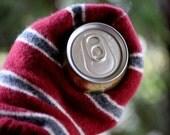 Wool Mug Mitten, Sweater Mug Mitten, Upcycled Wool Sweater Mug Mitten, Fleece Lined, Inspiring Dreams