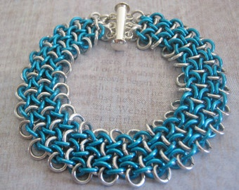 Seas Bracelet Chain Maille Aluminum Jewelry