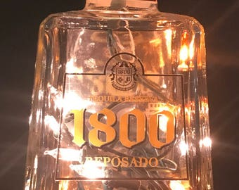 Lighted Bottle Tequila 1800