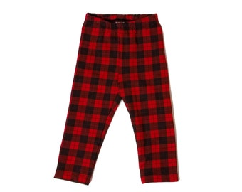 Plaid Baby/Toddler Leggings, size 18 months