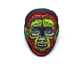 Monster Mash Wolfman Pin