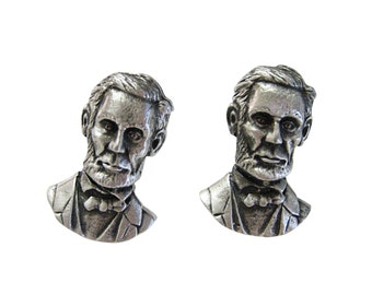Abraham Lincoln Cufflinks