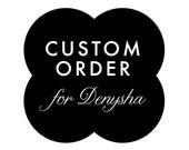 CUSTOM ORDER -- Custom Shower Logo