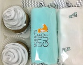 Baby Boy gift - Fox baby shower gift - 3 month