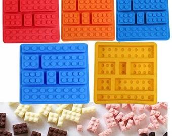 Puzzle Blocks Silicone Mold