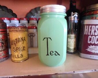 Vintage Tea Jar