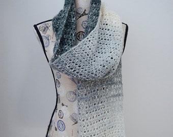 Grey Skies Scarf - Crochet Pattern