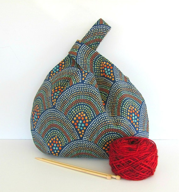 Knitting Accessories Bag : Knitting bag large project tote accessories