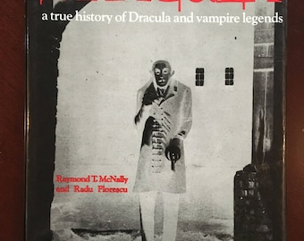 Autographed Book, In Search of Dracula, a true history of Dracula and vampire legends, autographed by both authors.