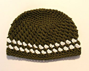 Boys hat - cotton kids hat - beanie Hat - READY TO SHIP hat - child hat - striped hat