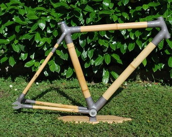 Bamboo Bicycle Frame city or fixed Bike