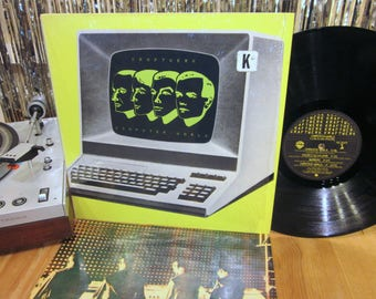 Kraftwerk - Computer World - Electronic Music Pioneers! - 1981 - Synthesizer - Electronic - Dance Party - w/ Printed Inner in Shrink Wrap