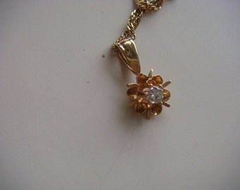 14k Gold Pendant Only