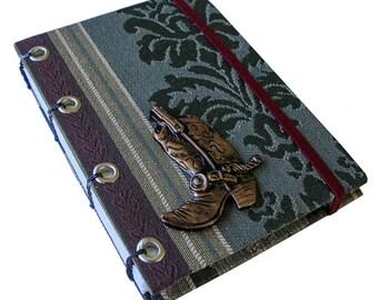 Coptic Stitched Tapestry Sketchbook /Journal