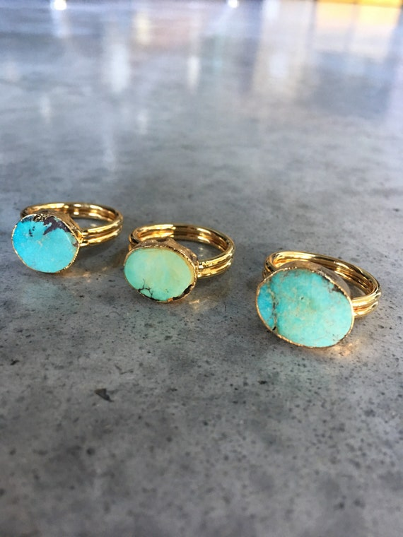 Turquoise rings, turquoise jewelry, turquoise, boho jewelry, December birthstone