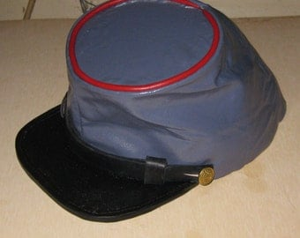 Painted Confederate Kepi