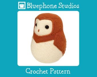 Crochet Pattern: Alistar the Barn Owl
