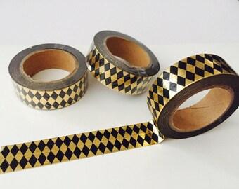 Harlequin Foil Washi Tape