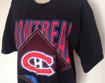 Vintage Montreal Canadiens Hockey 1994 Tshirt