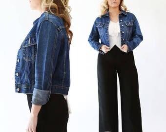 Vintage 90s ESPRIT denim Jean Jacket Sz. S