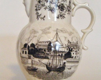 30% Off Storewide Antique Royal Worcester Made in England Bicentenary 1751 to 1951 Pitcher