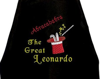 Kid's Cape, Abracadabra!   The Great Magician Cape with your child's Name  Embroidered Personalized Superhero cape