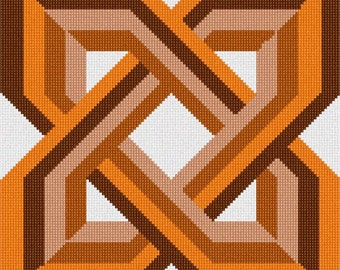 Needlepoint Kit or Canvas: Celtic Knot 7