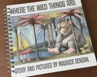 Where the Wild Things Are Recycled Journal Notebook