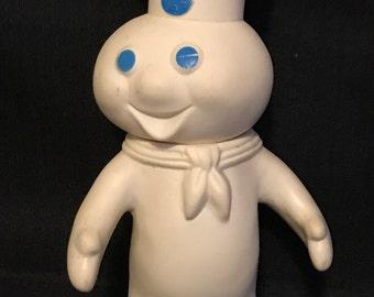 Pillsbury Dough Boy Squeeze Doll Vintage Advertising Toy