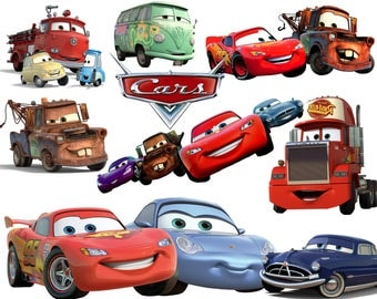 BEST collection of 100 Disney's CARS Clipart - 100 high quality CARS clipart - 100 Cars Graphics !!!