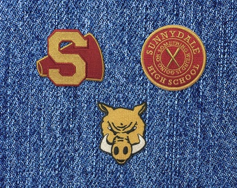 SUPER SALE 50% off! Buffy the Vampire Slayer inspired iron-on fan patch Set! Hellmouth Whedon Firefly Serenity Sunnydale Cheerleader Cosplay