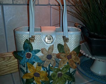 Vintage flower tropical vacation purse Philippines