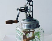 Old fashioned Butter Churn, working condition