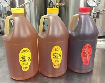 1/2 gallon, 6lbs Raw Honey -Pure and Natural