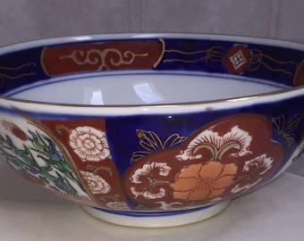 Goldimari Bowl Hand Painted Decorative Chinese Bowl