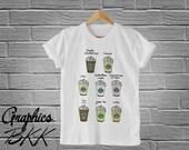 Frappuccino T-Shirt Unisex T-Shirt Frappuccino Shirt unisex tee starbucks shirt coffee shirt (S-XL) Free Shipping