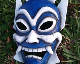 Blue Spirit Mask replica prop